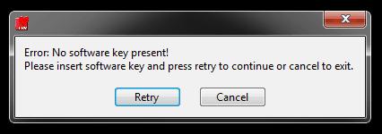 App Key Error