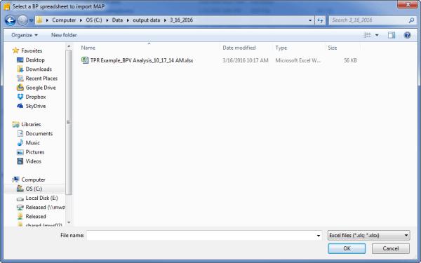 TPR File Prompt